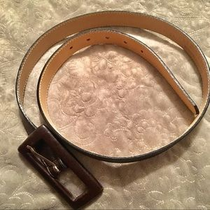Leatherock Accessories - Leatherock Dark Brown Leather Belt
